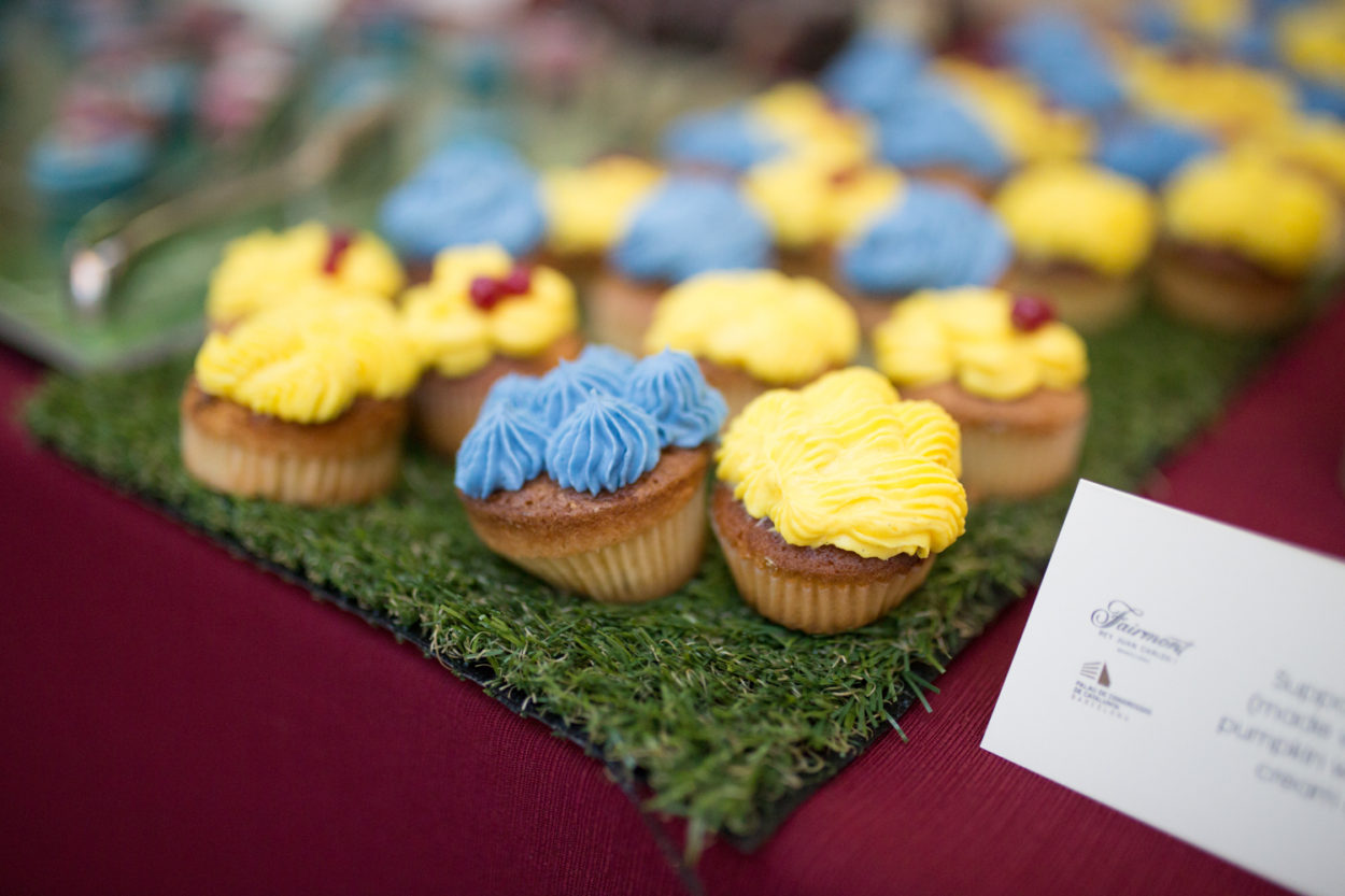 FC Barcelona Coffee Break cupcakes
