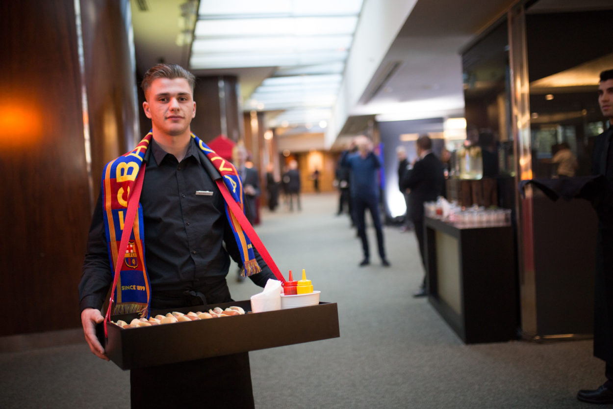FC Barcelona Coffee break service