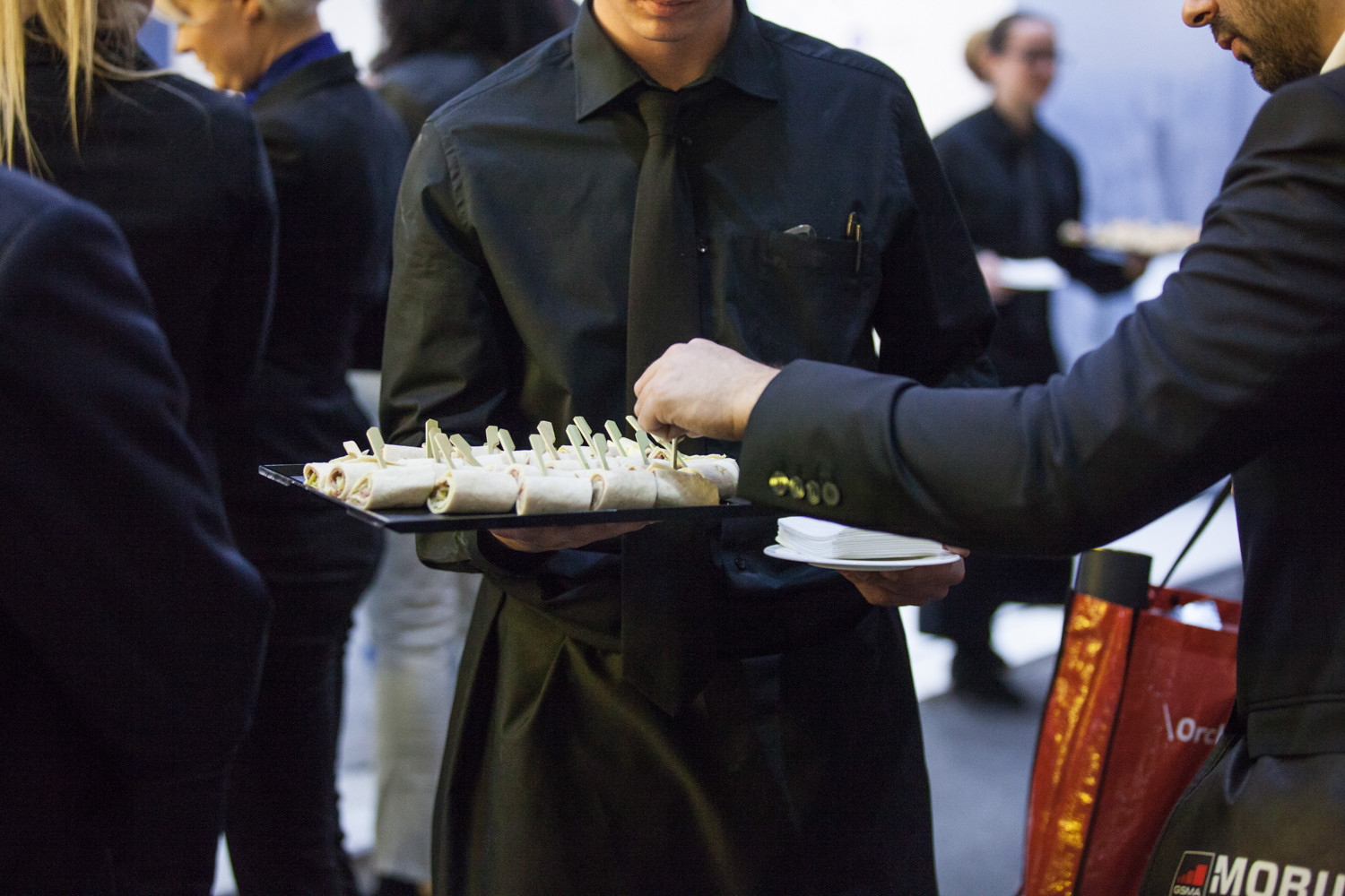 Royal Catering at Mobile World Congress