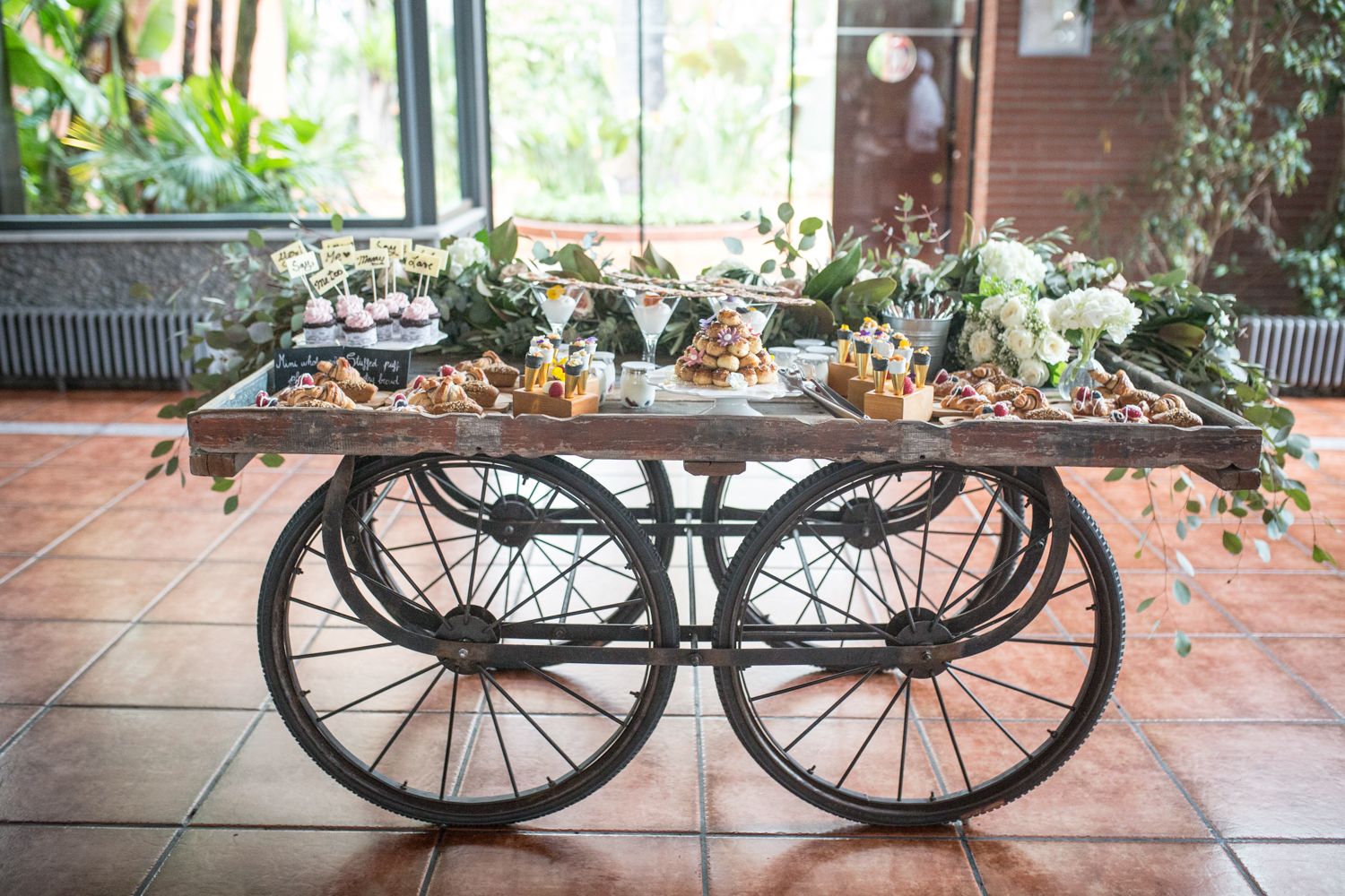 Brunch de boda por Royal Catering